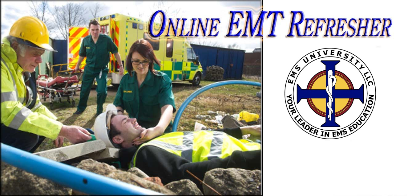 NREMT Refresher Online - CAPCE Approved, US DOT 24 Hour NREMT Refresher/Transition Curriculum - EMT Continuing Education